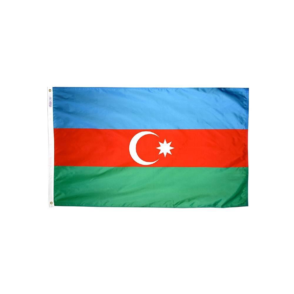 Azerbaijan Flag - All-Weather Nylon