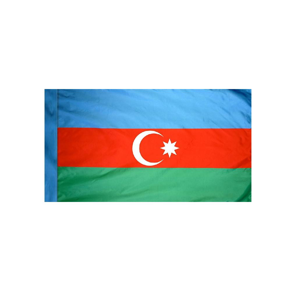 Azerbaijan Flag with Polesleeve