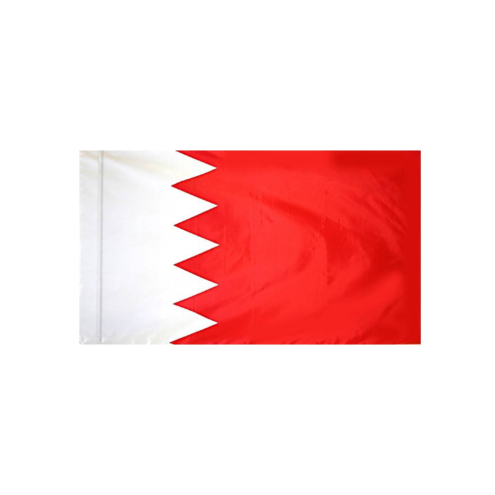 Bahrain Flag with Polesleeve