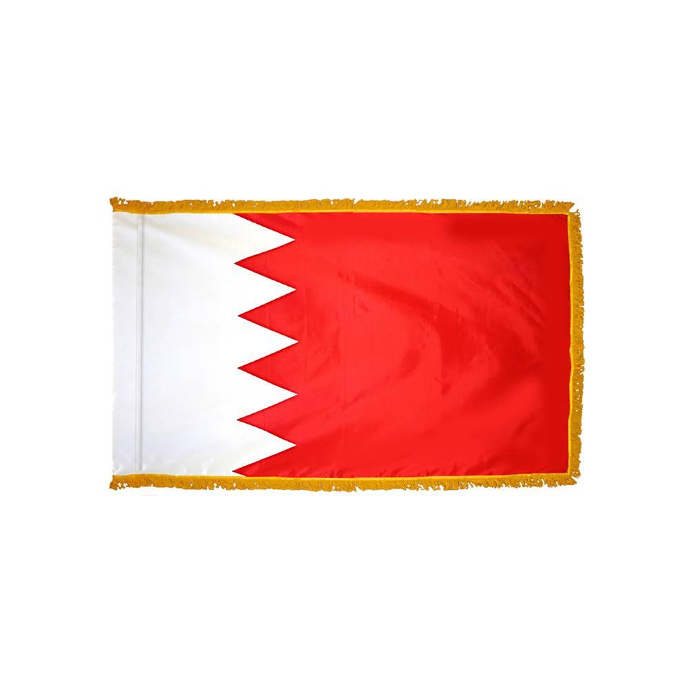 Bahrain Flag - Indoor & Parade with Fringe