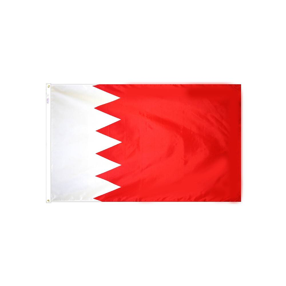 Bahrain Flag - All-Weather Nylon