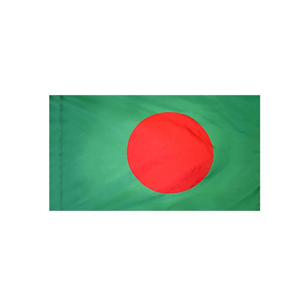 Bangladesh Flag with Polesleeve