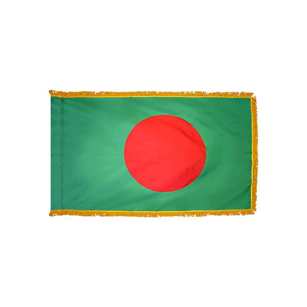 Bangladesh Flag - Indoor & Parade with Fringe