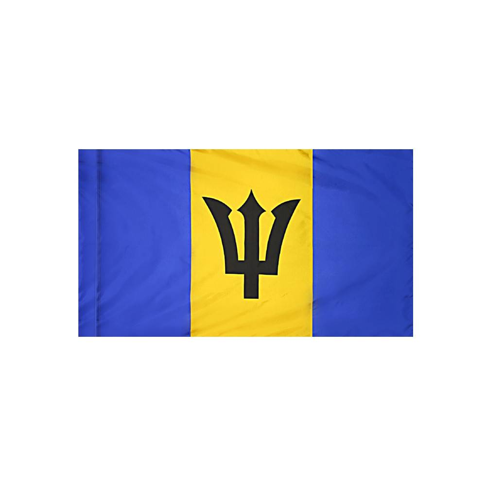 Barbados Flag with Polesleeve