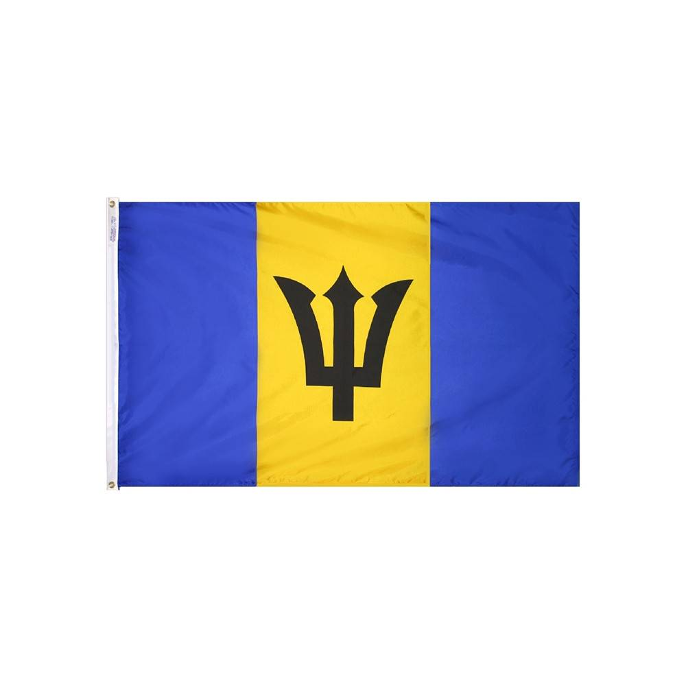 Barbados Flag - All-Weather Nylon