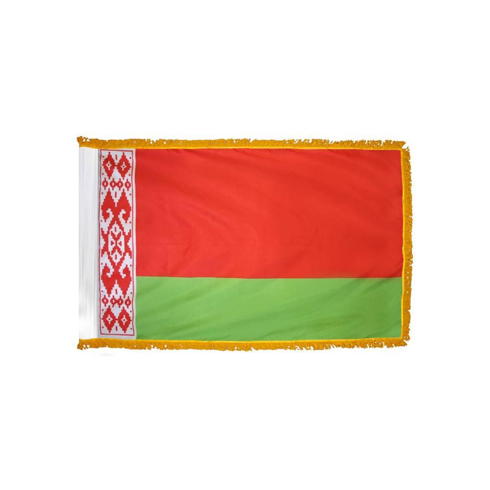 Belarus Flag - Indoor & Parade with Fringe