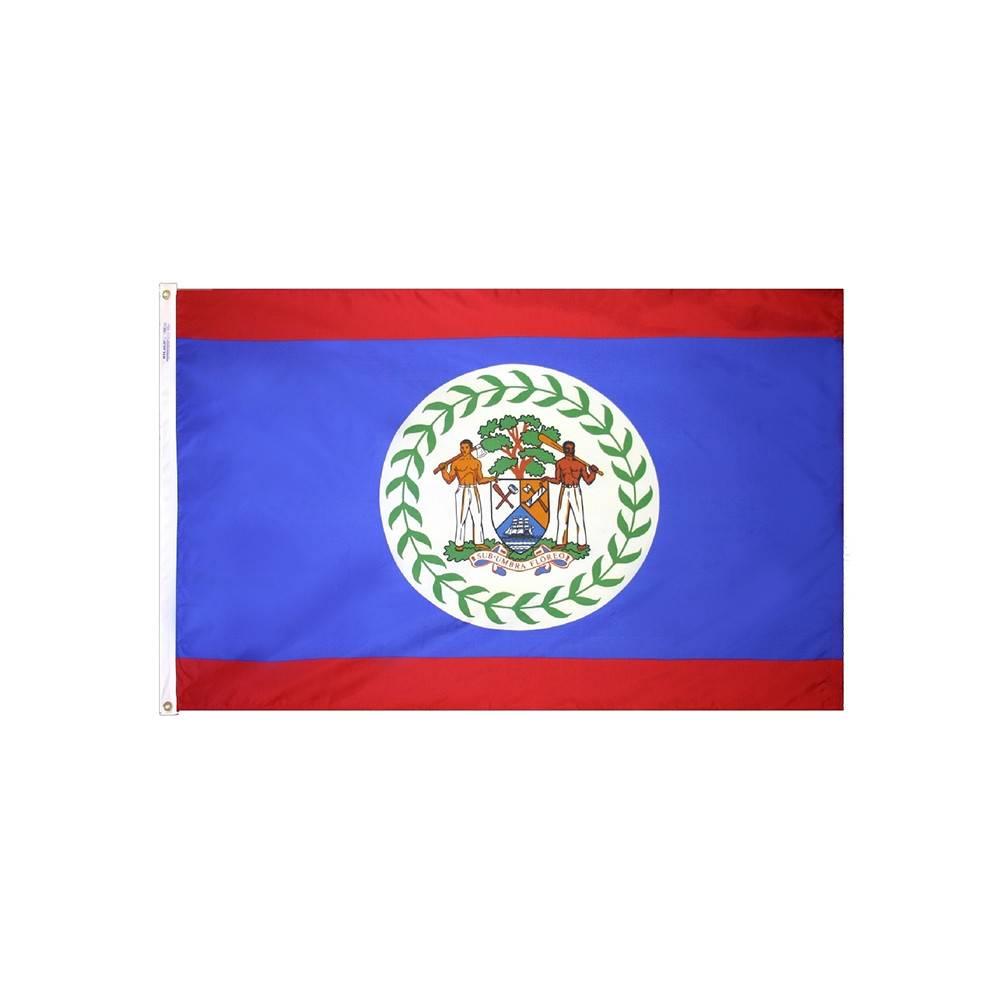 Belize Flag - All-Weather Nylon