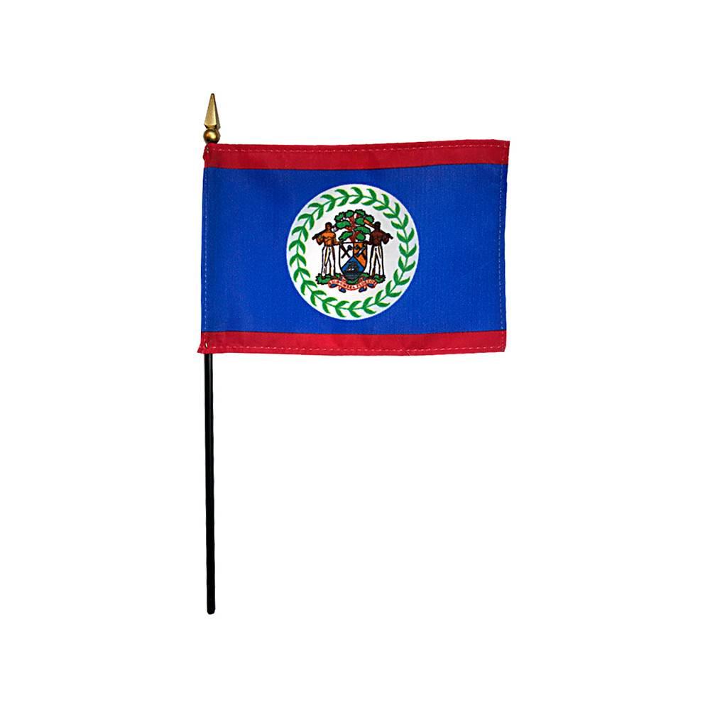 Belize Stick Flag