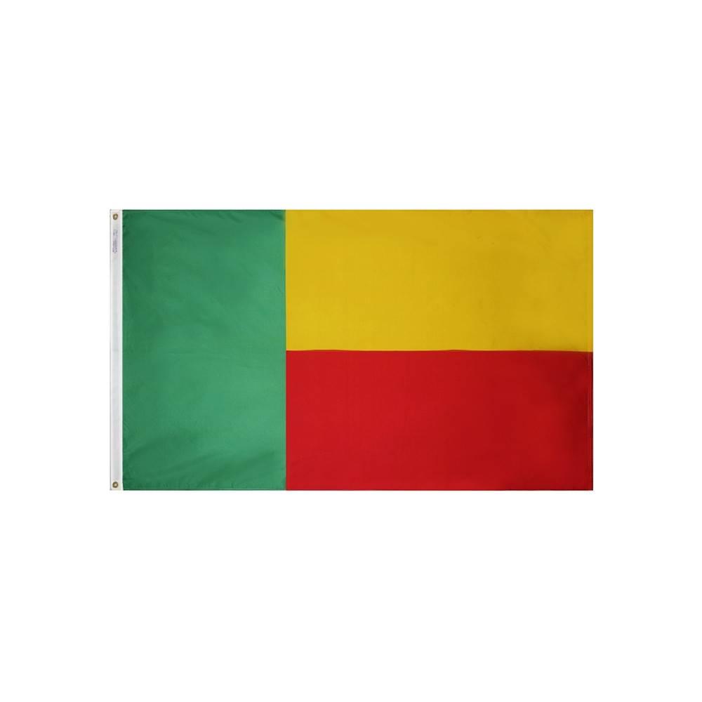 Benin Flag - All-Weather Nylon