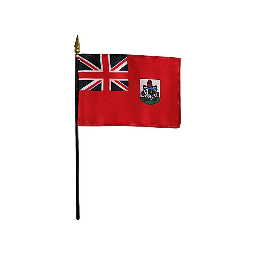 Bermuda Stick Flag 4x6 in