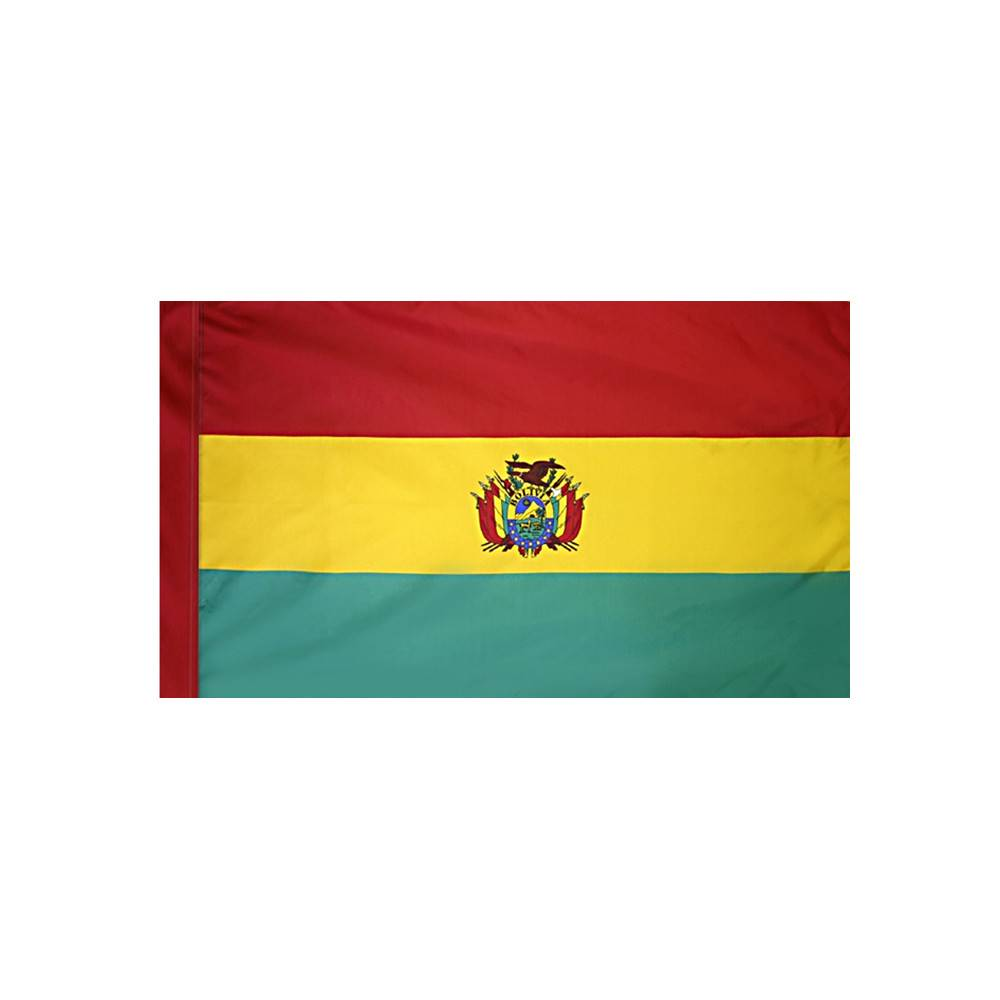 Bolivia Flag with Polesleeve