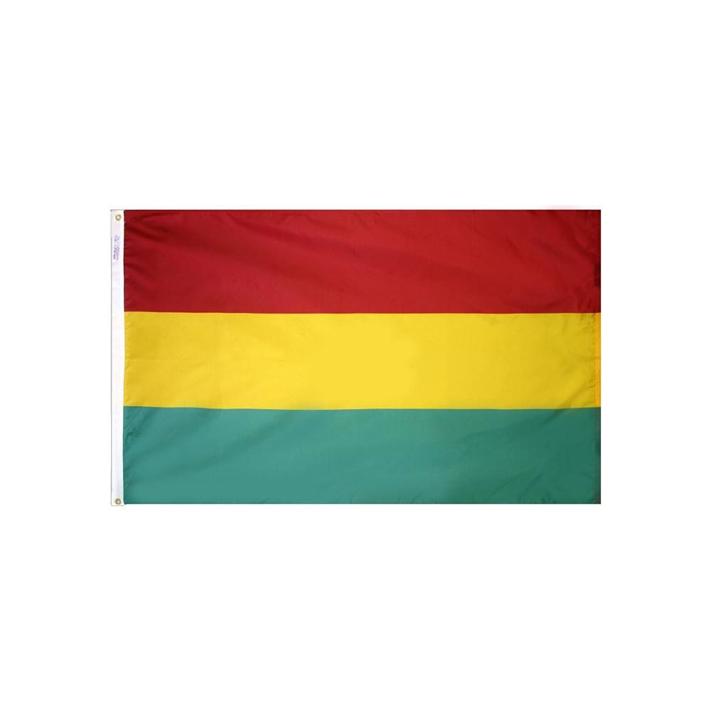 Bolivia Flag without Seal