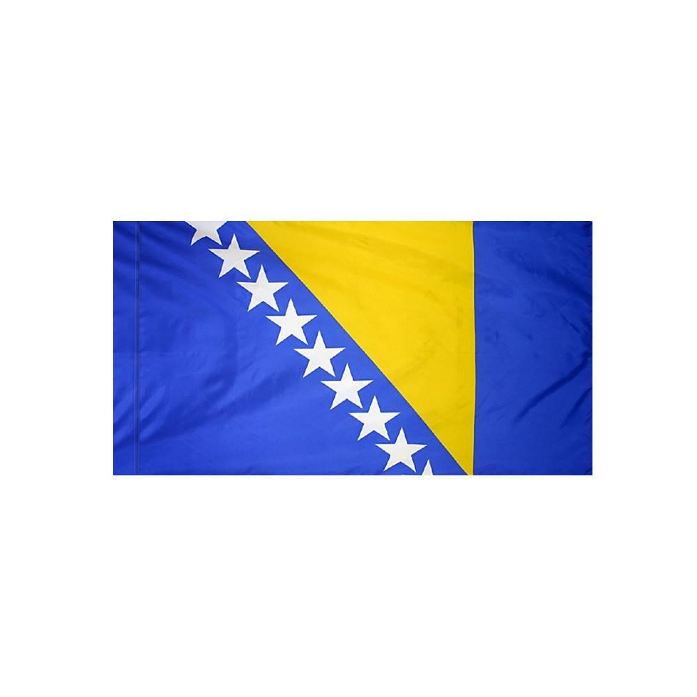 Bosnia-Herzegovina Flag with Polesleeve