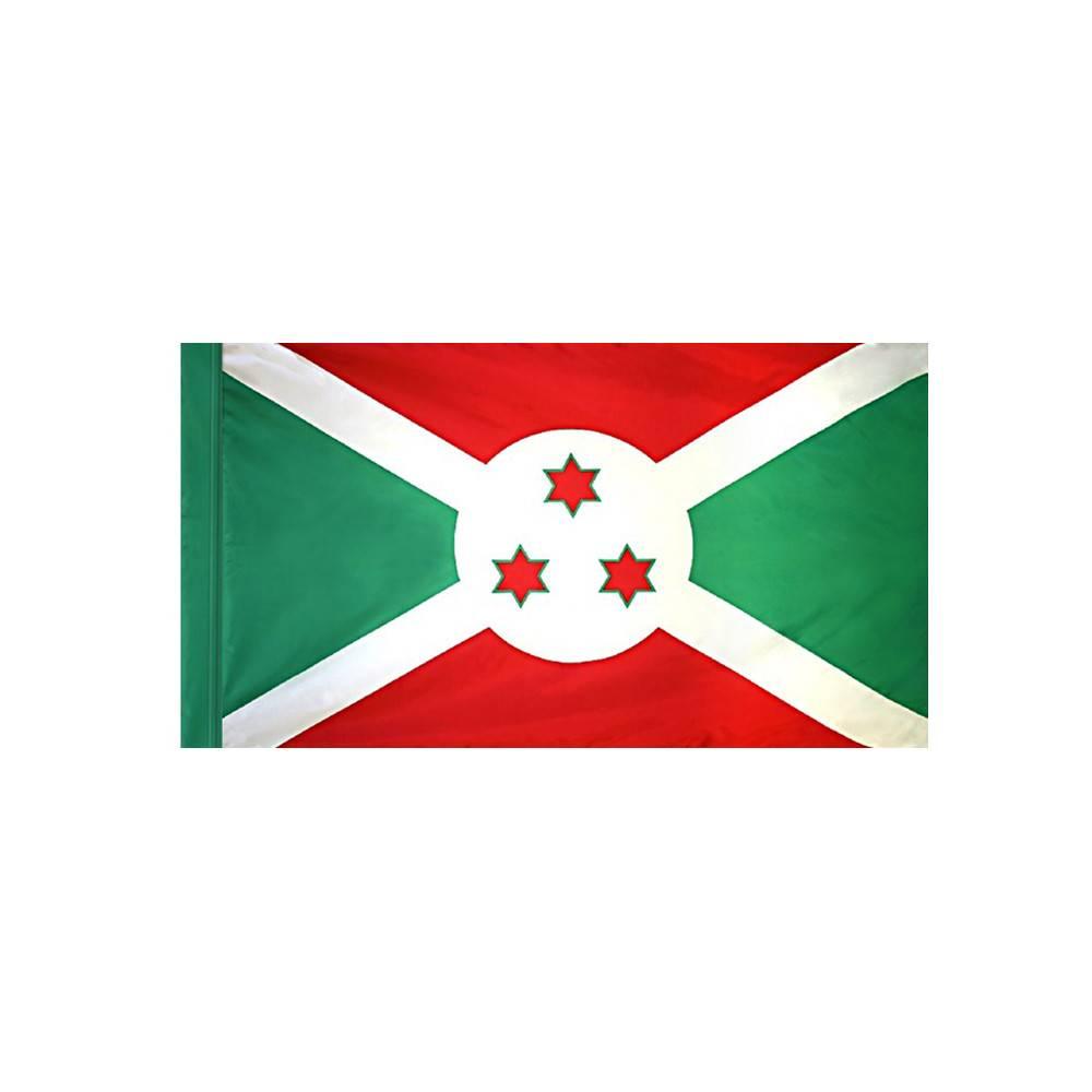 Burundi Flag with Polesleeve
