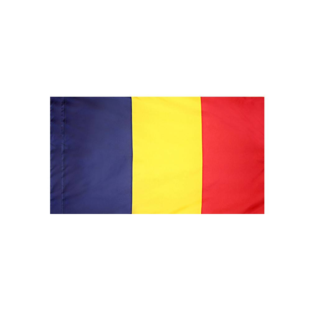 Chad Flag with Polesleeve