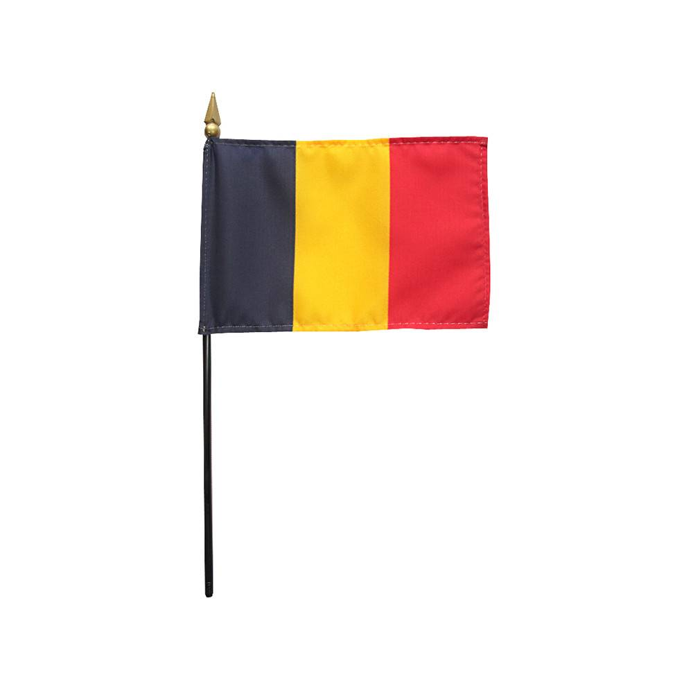Chad Stick Flag 4x6 in