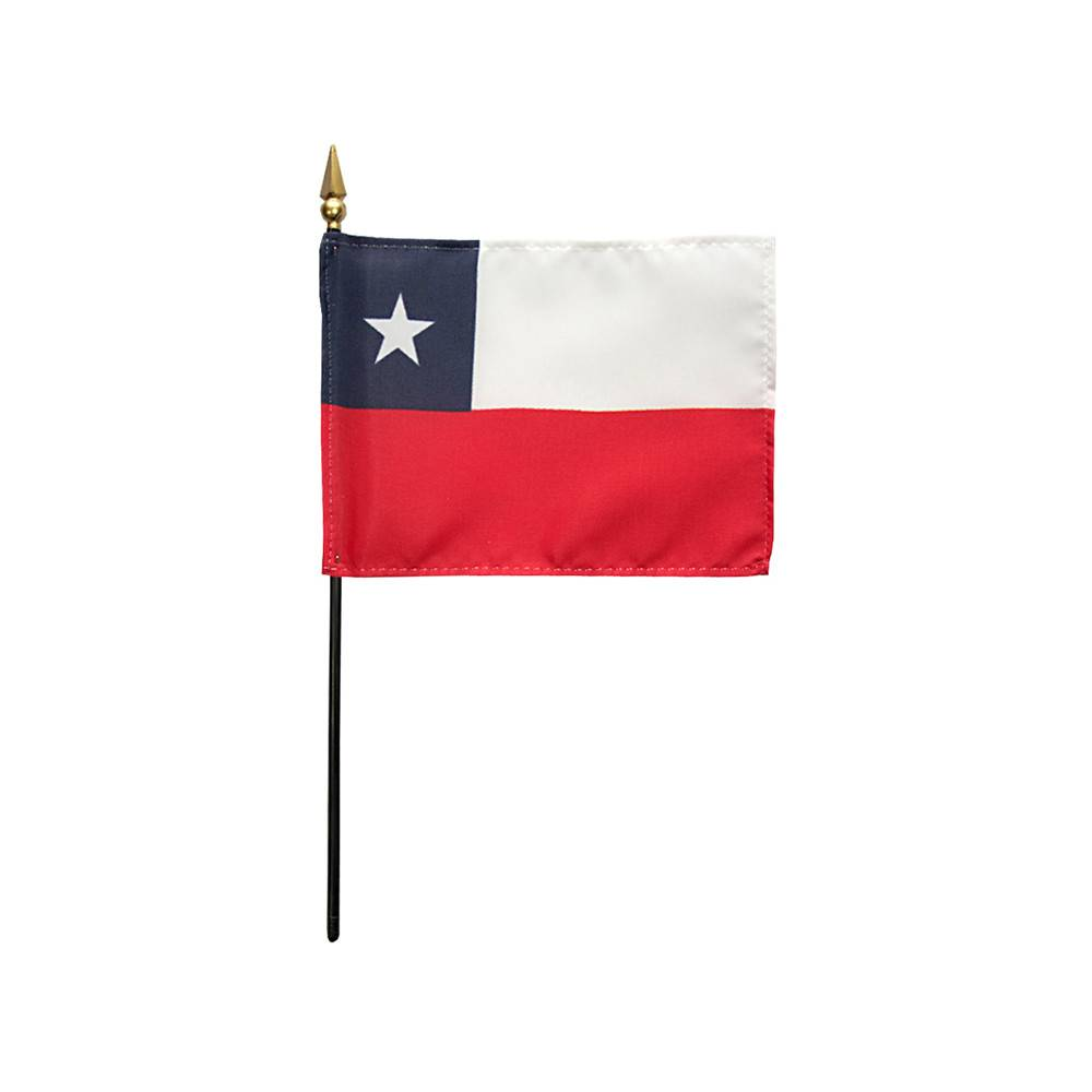 Chile Stick Flag 4x6 in