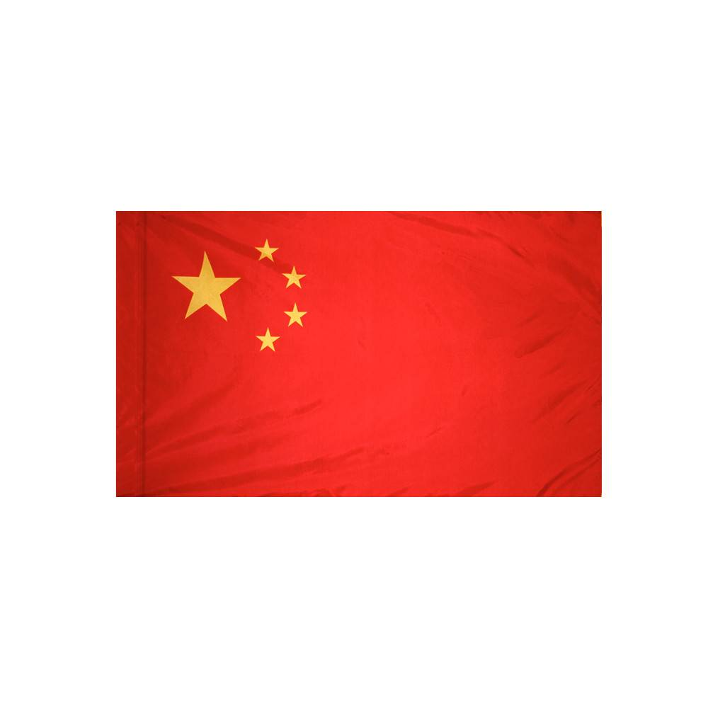 China Flag with Polesleeve