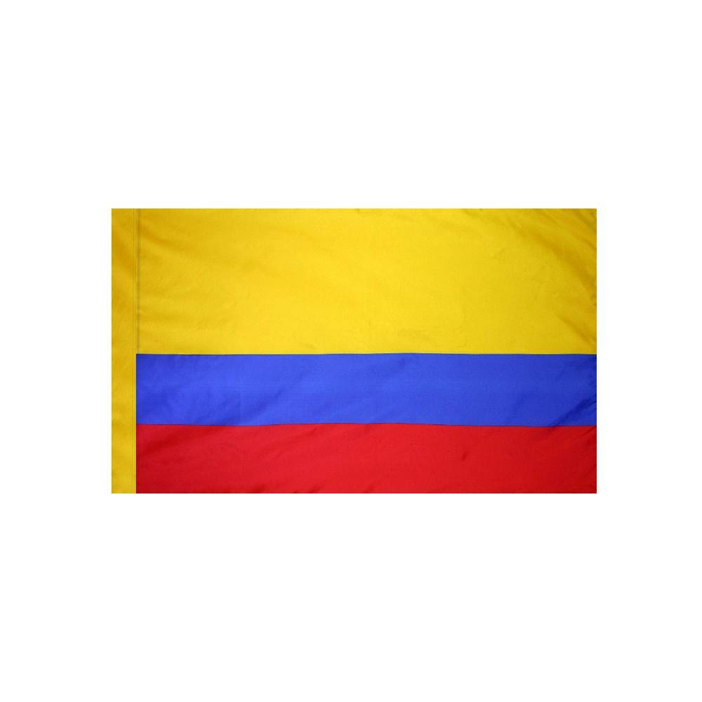 Colombia Flag with Polesleeve