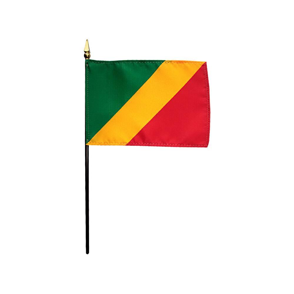 Congo Stick Flag 4x6 in