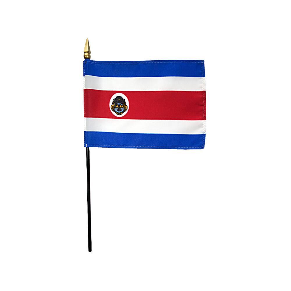 Costa Rica Stick Flag