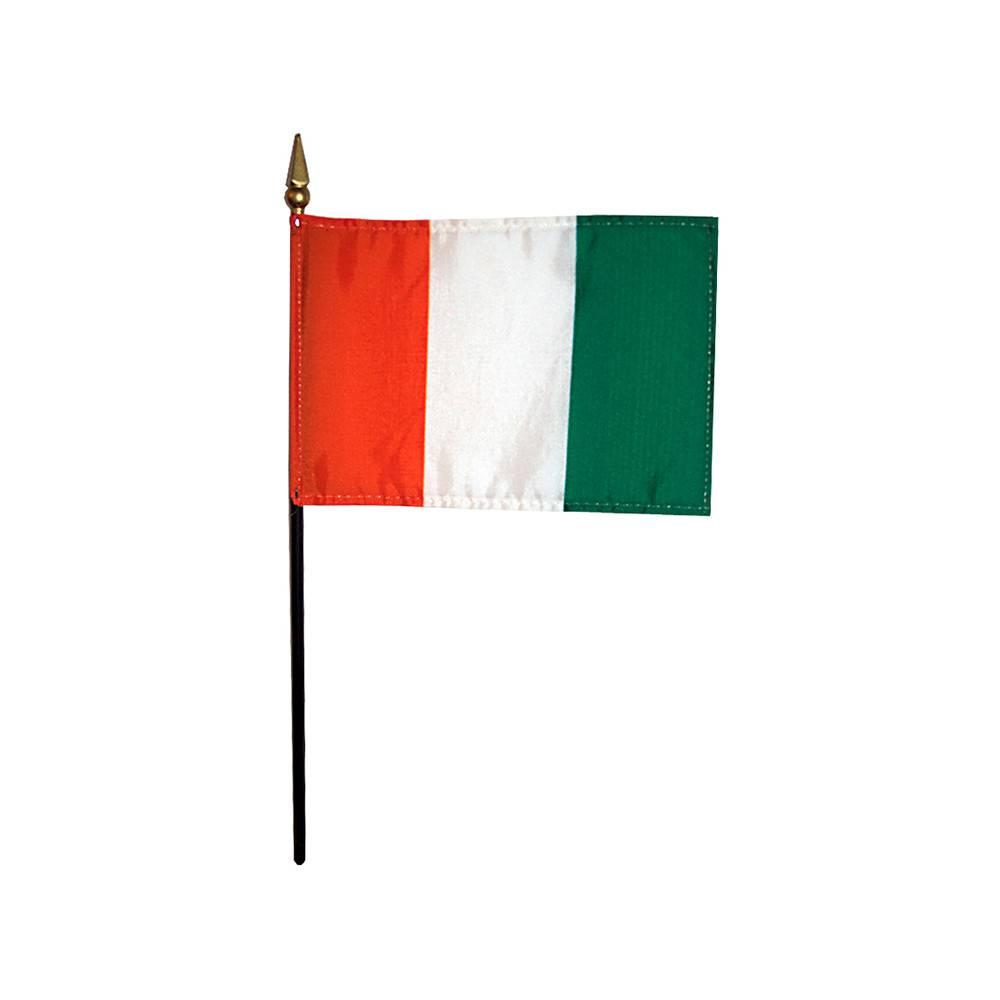 Cote D'Ivoire Stick Flag 4x6 in