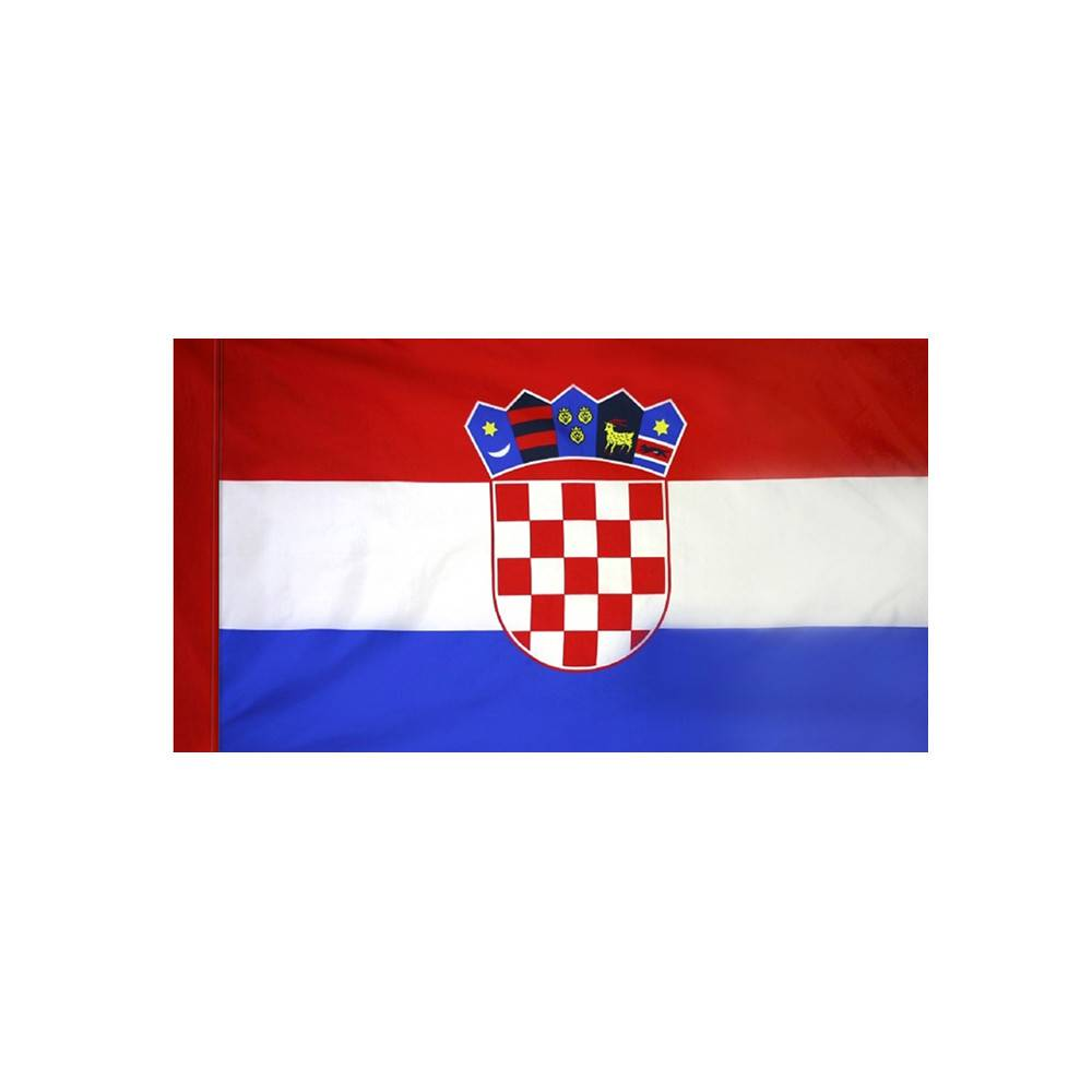 Croatia Flag with Polesleeve
