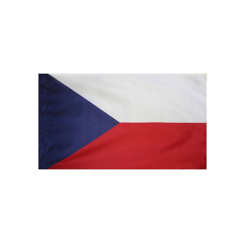 Czech Republic Flag with Polesleeve