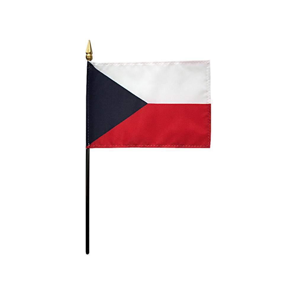Czech Republic Stick Flag
