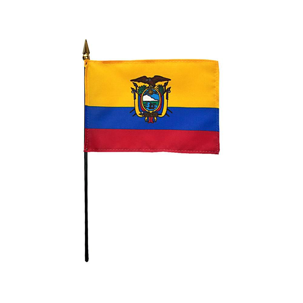 Ecuador Stick Flag