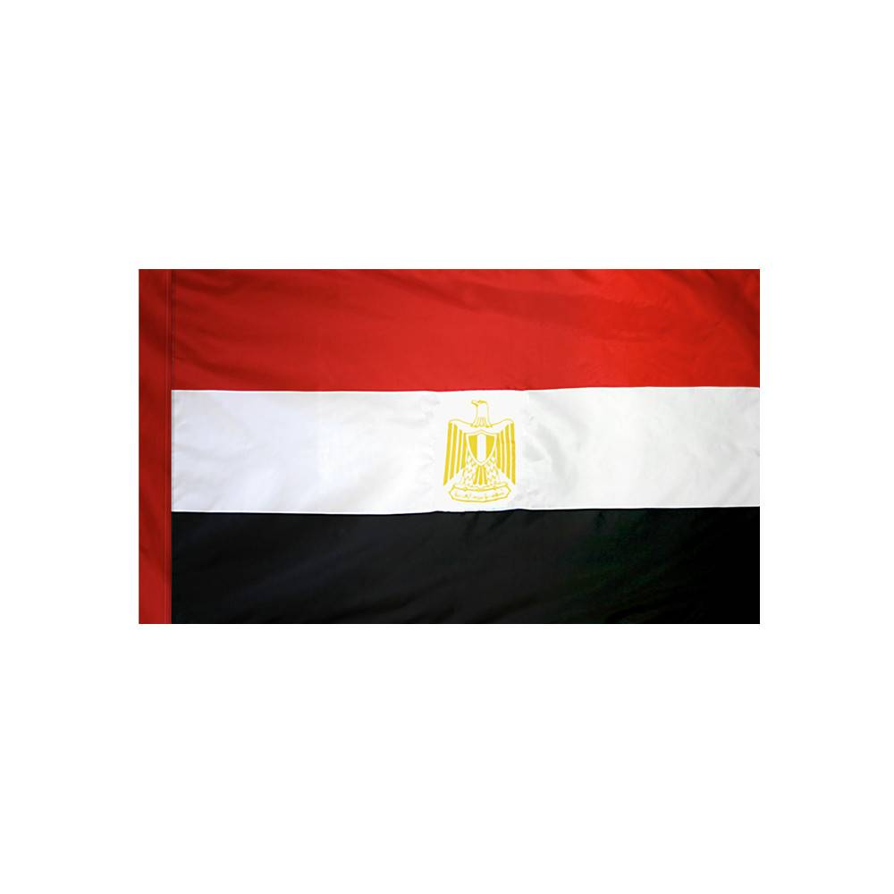 Egypt Flag with Polesleeve