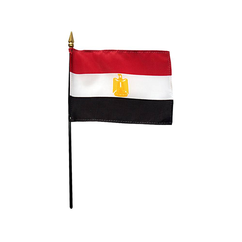 Egypt Stick Flag 4x6 in