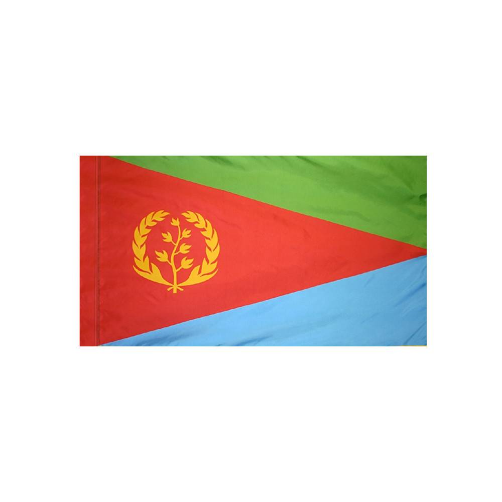 Eritrea Flag with Polesleeve