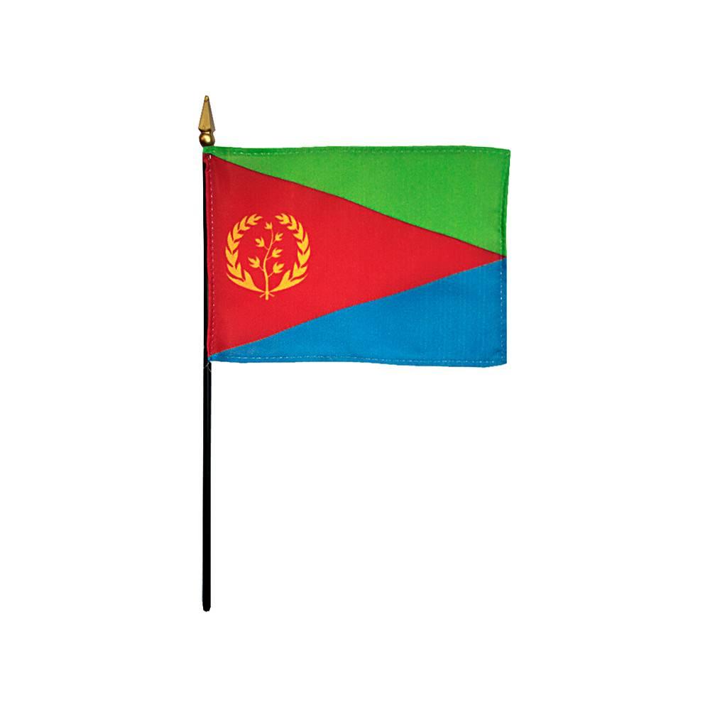 Eritrea Stick Flag 4x6 in