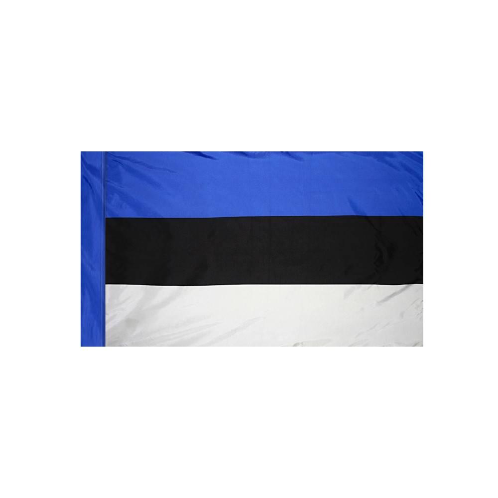Estonia Flag with Polesleeve