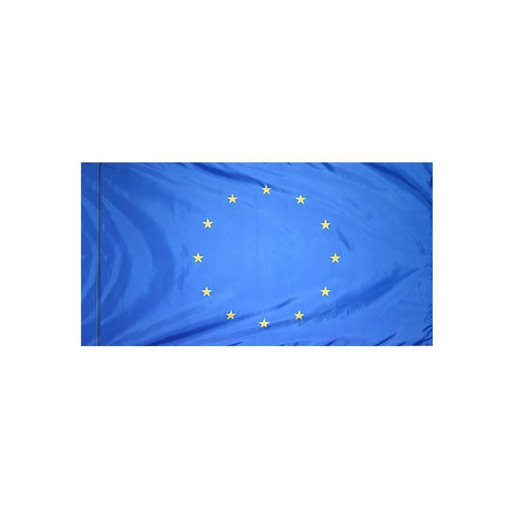 European Union Flag with Polesleeve