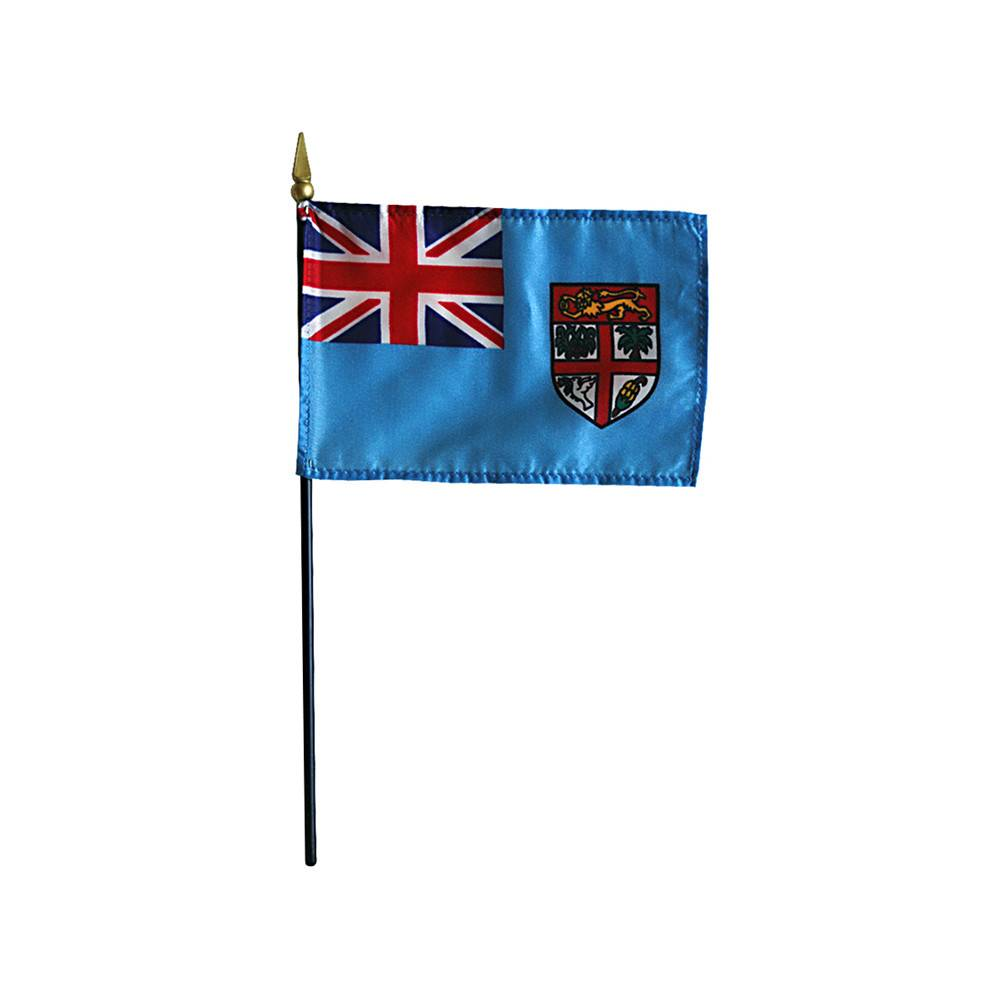 Fiji Stick Flag 4x6 in