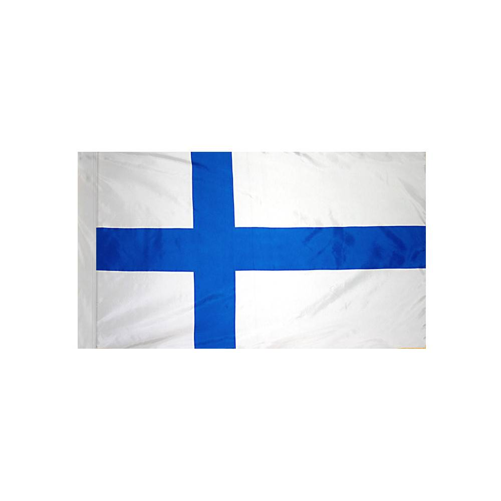 Finland Flag with Polesleeve