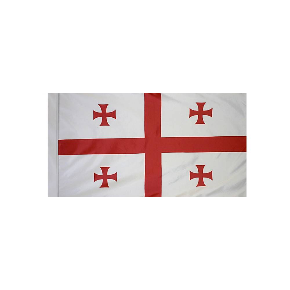 Republic of Georgia Flag with Polesleeve