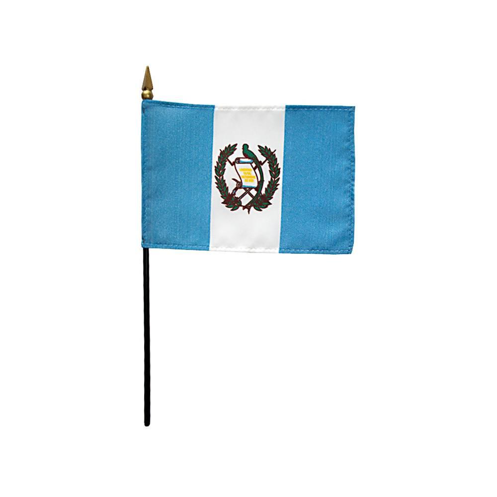 Guatemala Stick Flag 4x6 in