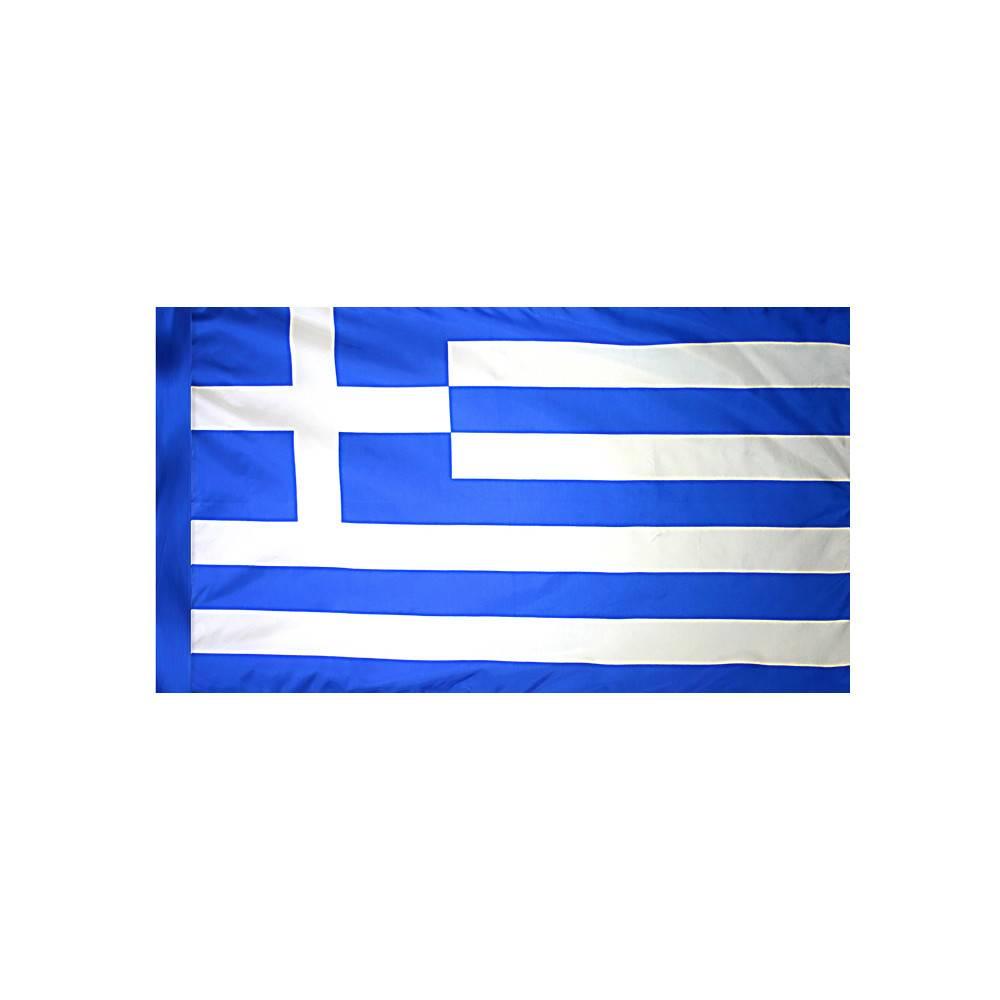Greece Flag  with Polesleeve
