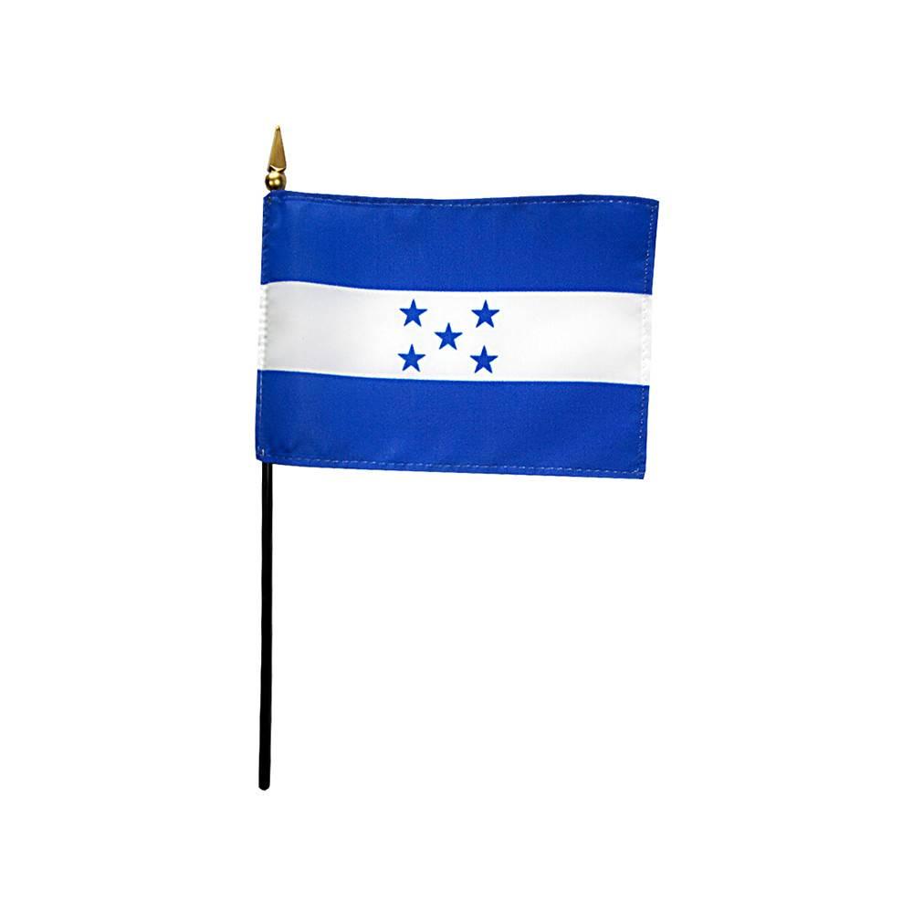 Honduras Stick Flag 4x6 in