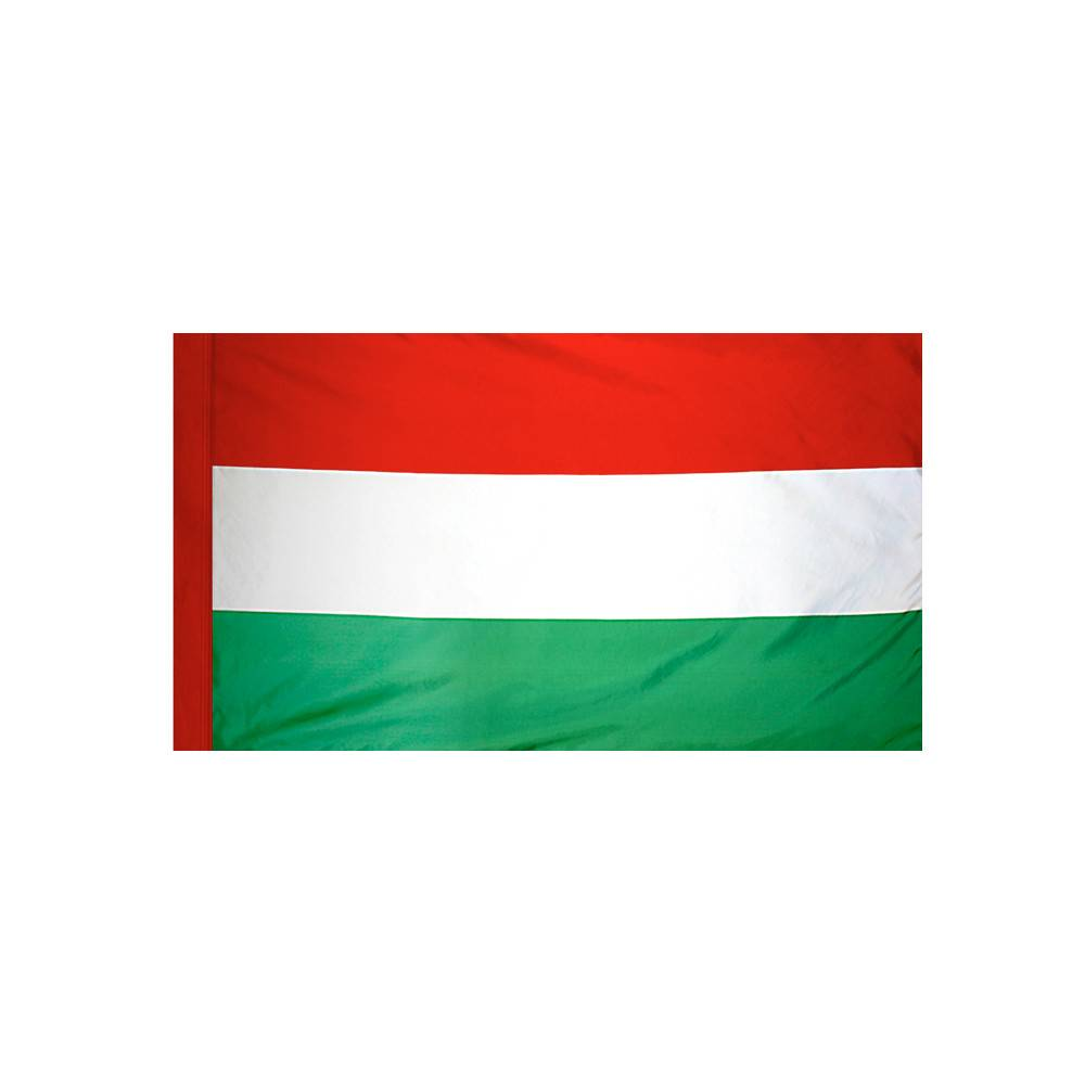 Hungary Flag with Polesleeve