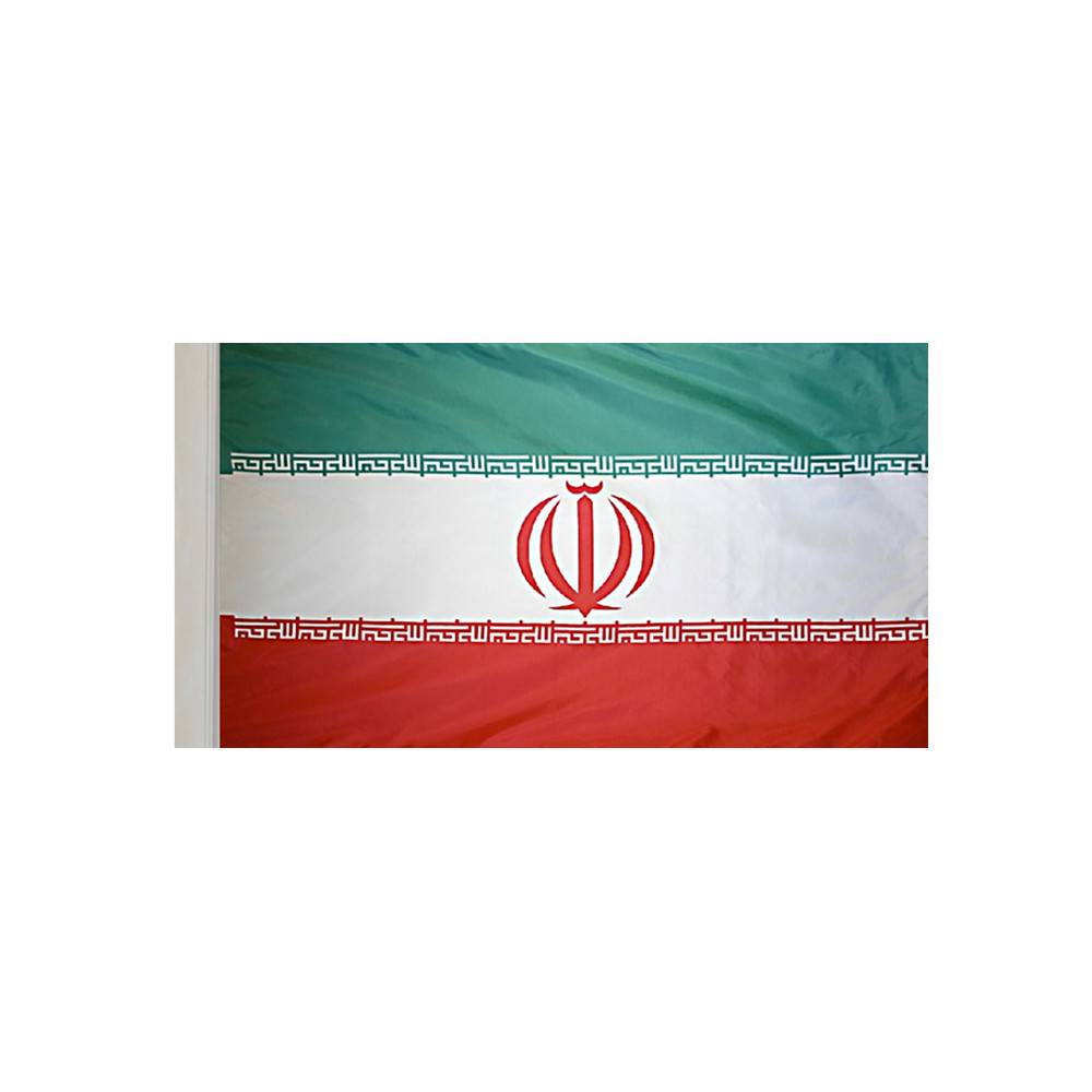 Iran Flag with Polesleeve