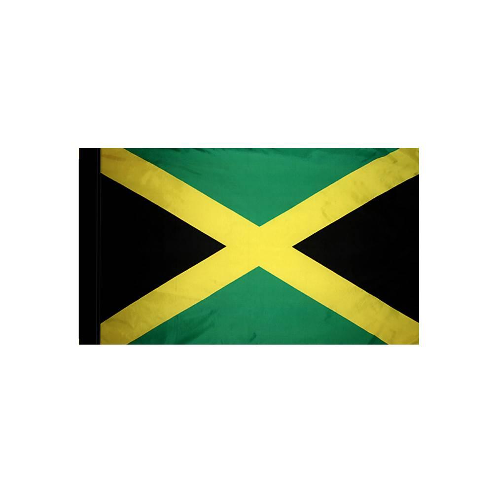 Jamaica Flag with Polesleeve