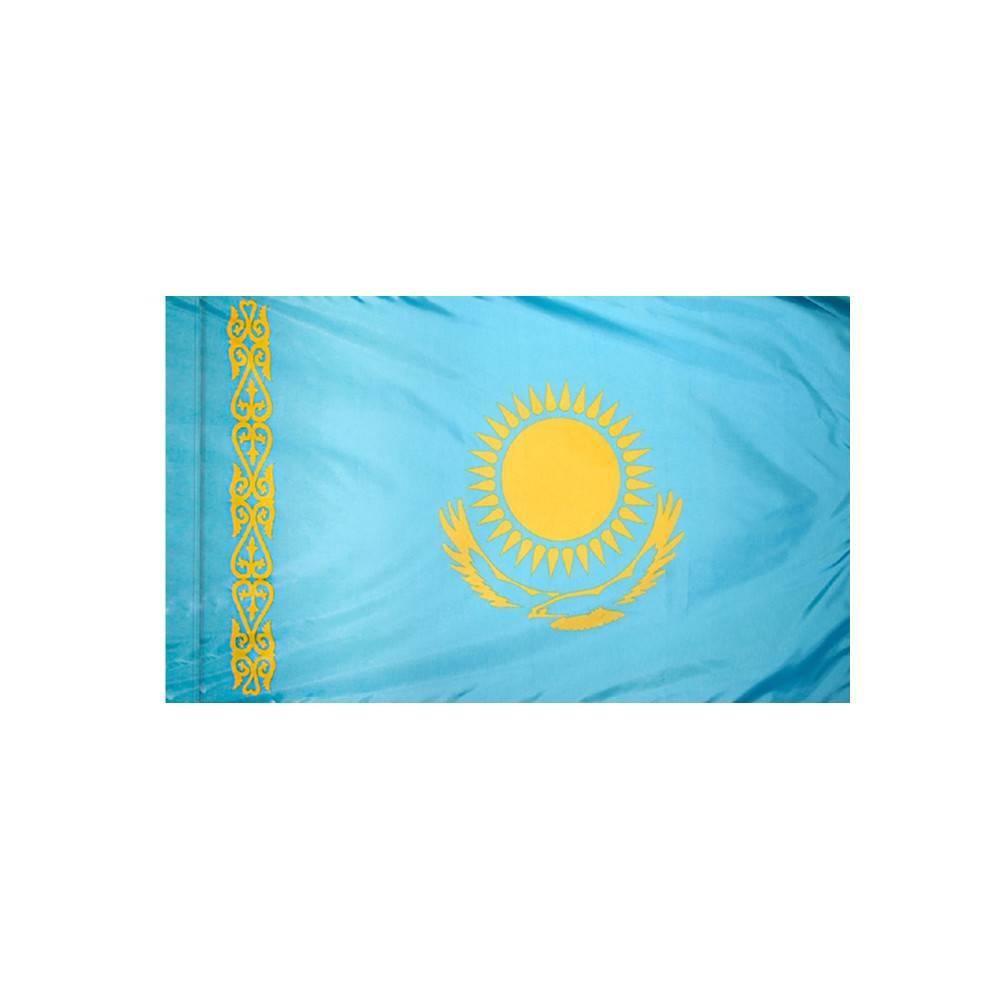 Kazakhstan Flag with Polesleeve