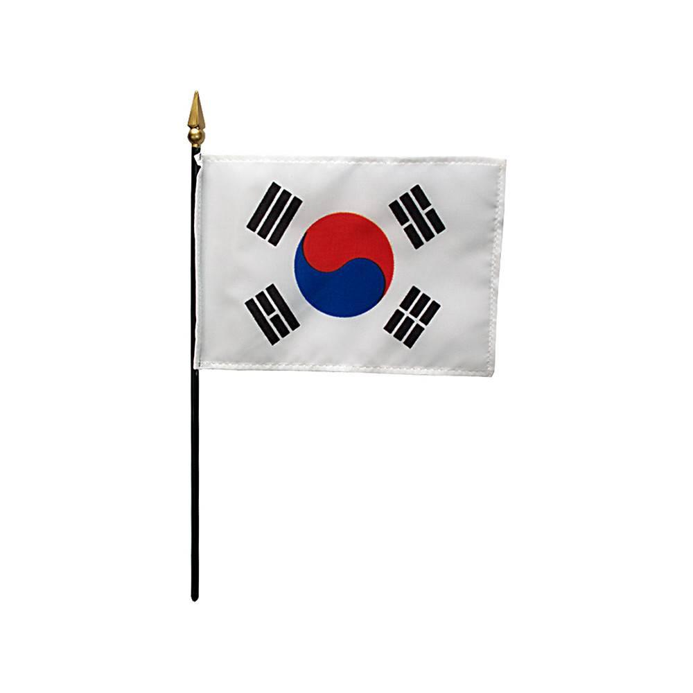 South Korea Stick Flag