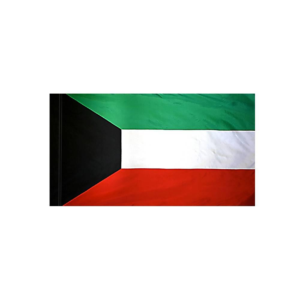 Kuwait Flag with Polesleeve