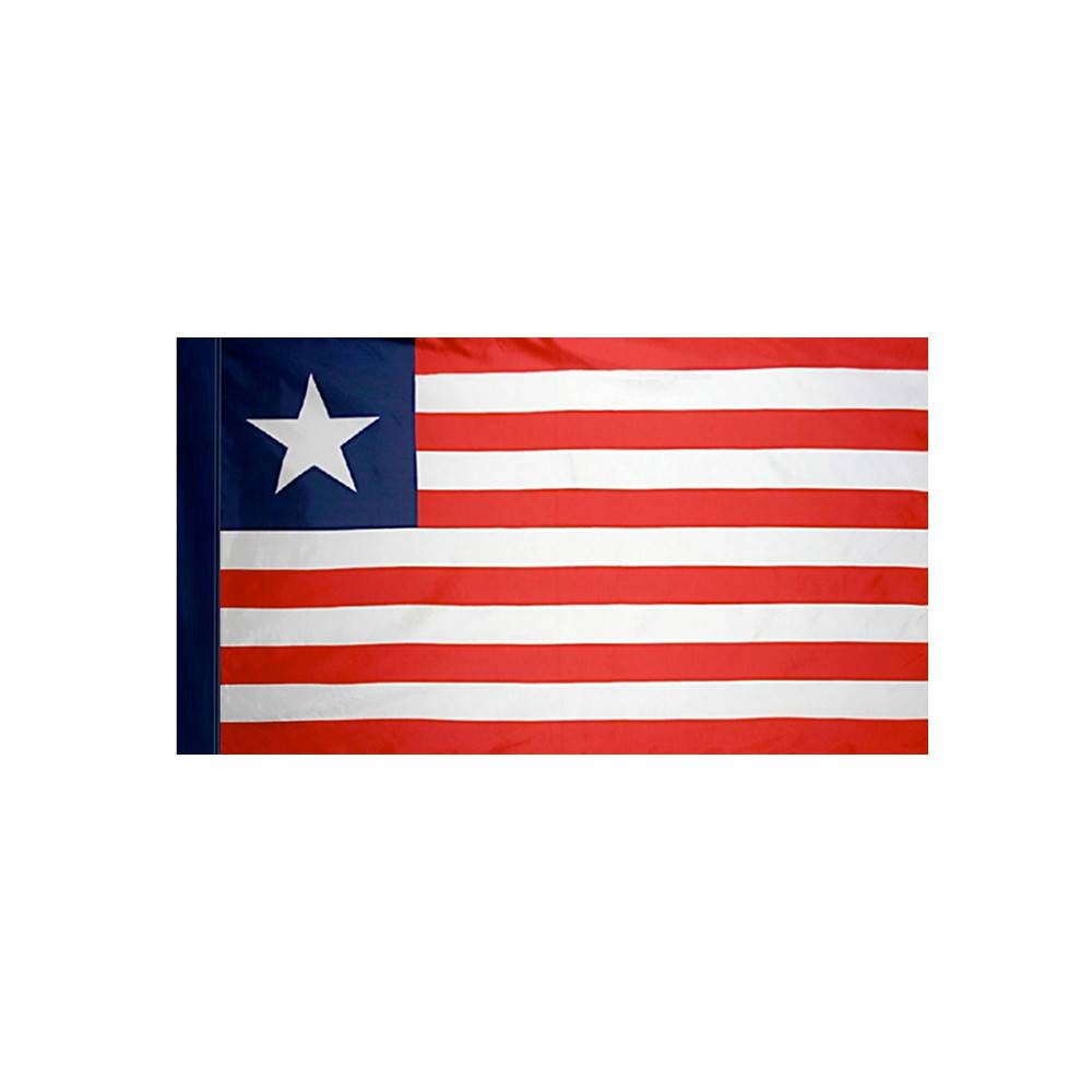 Liberia Flag with Polesleeve