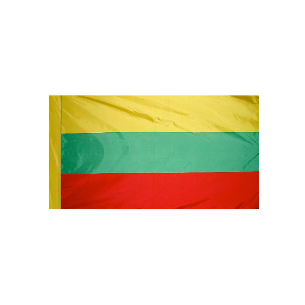 Lithuania Flag with Polesleeve